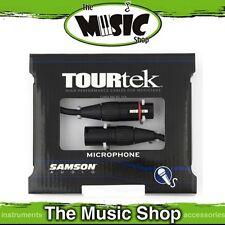New Samson TourTek 3ft XLR to XLR Microphone Cable - 1m Mic Lead - TM-3