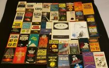 Huge Lot Of Vintage Science Fiction Ufo Conspiracy Books