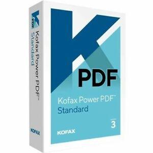 Brand New Kofax Nuance Power PDF 3.0 Standard Retail Box