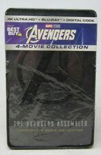 New! Avengers 4 Movie Collection (4K UHD + Blu-Ray + Digital) Steelbook (READ)