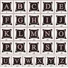 PW_ KE_ Alphabet Letter Linen Cushion Cover Pillow Case Waist Throw Home Decor