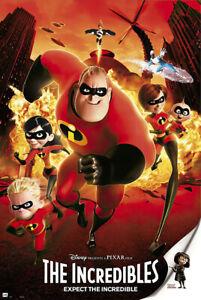 The Incredibles - Disney / Pixar Movie Poster / Print (Regular Style)