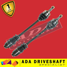 2 NEW FRONT CV JOINT DRIVE SHAFT TO SUIT SUBARU WRX IMPREZA 89-10/99 (PAIR)