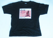 Motley Crue Red, White and Crue Ltd Ed Black T-Shirt L 100% Cotton