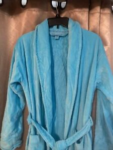 Victoria's Secret Long Terry Cloth  Robe Bathrobe Cozy  Wrap Sz Sm