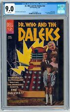 Dr Who & the Daleks CGC 9.0 Dell Movie Classic 1966 1st U.S. Appearance Doctor
