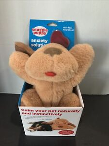 Heartbeat SmartPetLove Snuggle Puppy Behavioral Aid Toy (Biscuit/Tan)