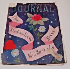 Antique Ladies' Home Journal Oct 1946~Never Underestimate the Power of a Woman