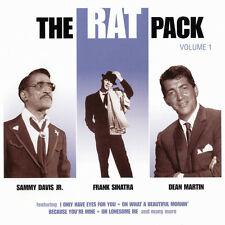 THE RAT PACK: VOL 1 - CD (2002) 16 TRACKS; OL' MAN RIVER, OH LONESOME ME ETC