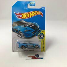 '15 Mazda MX-5 Miata #177 * Blue * 2017 Hot Wheels * WJ5