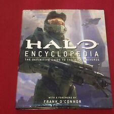 Halo Encyclopedia Definitive Guide to Universe Large Hardback Book