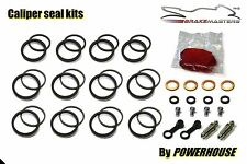Kawasaki VN1500 P Mean Streak front brake caliper seal rebuild repair kit 2004