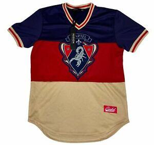 Hudson Outerwear Mens Cartel Chapo Scorpion Colorblock Jersey Shirt XL NWT