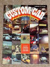 Custom Car Magazine Feb 1971 - ESCORT MEXICO TEST, LOTUS EUROPA TEST, RAC RALLY