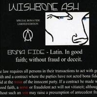WISHBONE ASH - BONA FIDE Special Edition Inc Extra Tracks (New & Sealed) CD Rock