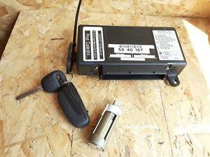 SAAB 9-5 TWICE IGNITION CONTROL UNIT KEY & BARREL PN 5040167