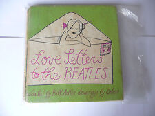 "LOVE LETTERS TO THE BEATLES- libro cartonato 1' Ed GP Usa 1964"" VERY RARE-FUM1"