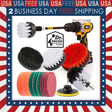 Cleaning Supplies Drill Brush The Ultimate Stiff Bristle Cleaning Attachment set