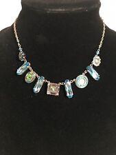 FIREFLY Swarovski Crystal Multiple Stone Necklace-N177