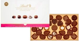 Lindt Master Chocolatier Collection Chocolate Box - 31 Pralines 320g
