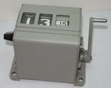 CUSTOM VEEDER-ROOT MECHANICAL COUNTER! ADVANCES EVERY 24 STROKES! 2 DIGITS 0-99