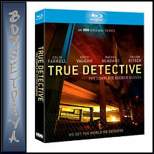 TRUE DETECTIVE - COMPLETE SEASON 2 *BRAND NEW BLU-RAY ***