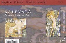Finland 2004 MNH Sheet - Kalevala - Akseli Gallen-Kallela - Nordic Mythology