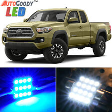 9 x Premium Blue LED Lights Interior Package Kit for Toyota Tacoma 05-17 + Tool