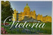 Victoria British Columbia The BC Parliament Buildings Postcard (P281)