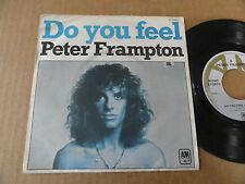 """DISQUE 45T DE PETER FRAMPTON  """" DO YOU FEEL """""""