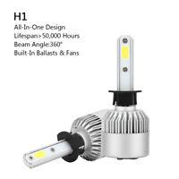 2P H1 All-in-One LED Lámpara Faro Kit 72W 8000LM COB Bulbo 6000K Blanco BS6 B6
