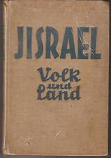Vintage-Jisrael Volk Und Land (German)