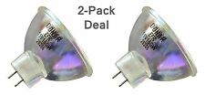 2pcs ELMO ST800 ST1200D ST1200HDMO 8mm Projector Movie Sound EFR Lamp Bulb