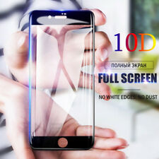 10D Full Cover Tempered Glass Screen Protector Film Pour iPhone X 8 7 6 6s Plus