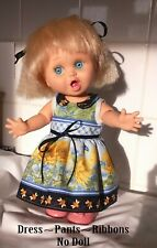 Sleeveless Dress With Collar Fits Galoob Baby Face dolls (NO DOLL) See details
