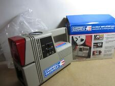 S2 NEW Campbell Hausfeld 12-Volt Cordless Air Compressor w safety lights 200 PSI