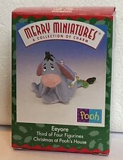 Hallmark Merry Miniatures Eeyore From Christmas At Pooh'S House