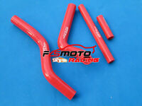 Silicone Radiator Hose for Suzuki RM125 RM 125 2001-2008 2002 2003 04 05 06 Red