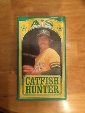Oakland Athletics 2014 A's Catfish Hunter SGA 1974 World Series bobblehead NIB