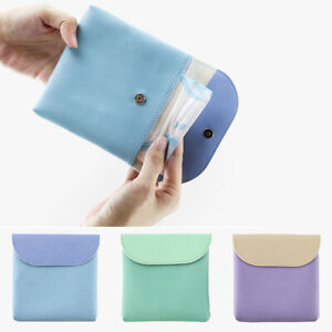 Sanitary Pad Pouch Women Napkin Towel Cosmetic Bags Organizer Ladies  Makeup Bag