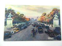 Vintage Postcard Les Jolis Coins De Paris Ave Des Champs-Elysees France PATRAS