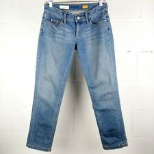 Anthropologie Pilcro And The Letterpress Straight Crop Jeans Size 26 Low Rise