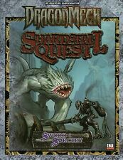 SWORD & SORCERY-DRAGONMECH-SHARDSFALL QUEST-d20-RPG-Roleplaying Game-(SC)-new