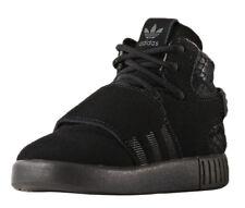 adidas Originals Tubular Invader Strap I Kids Real Leather Sneaker Black Bb0401 21