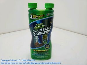Green Gobbler GGDIS2CH32 Drain Clog Dissolver 31oz Size P1806
