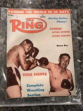 Vintage October 1961 The Ring Boxing Magazine