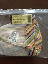 Longaberger Medium Flare Liner Summertime Stripe New In Package