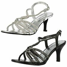 Women's Mid Heel (1.5-3 in.) Synthetic Strappy, Ankle Straps Shoes