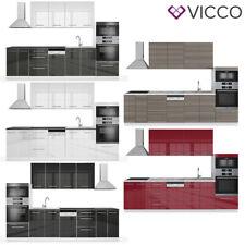 Küche Küchenzeile Einbauküche 295 x 206,8 x 51,6 cm (BxHxT) Fame- Line Vicco