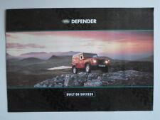LAND ROVER DEFENDER 1992 orig UK Market Sales Brochure - 90 110 130
